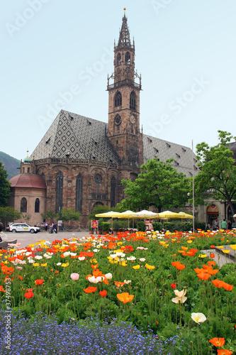 Fotografie, Obraz  Bolzano, Duomo