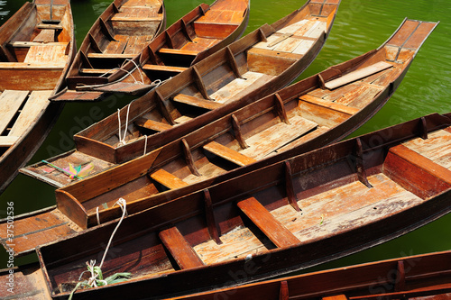 Thailand Boat ferrying for tourists Wallpaper Mural