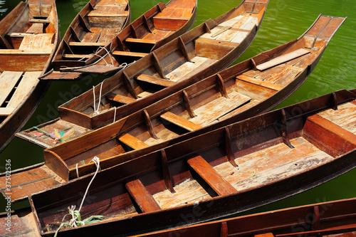 Obraz na plátně Thailand Boat ferrying for tourists