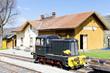 railway museum in Zubrnice, Czech Republic