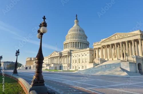 Capitol building East facade, Washington DC, United States