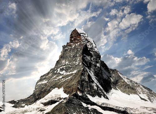 Obraz na plátně  Matterhorn - Swiss alps