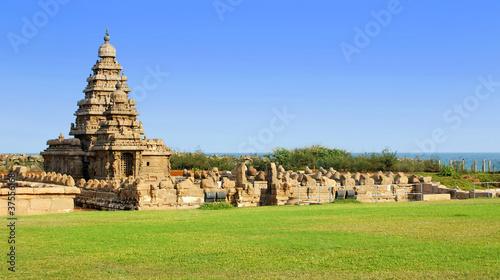 temple du rivage Tablou Canvas