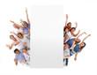 canvas print picture - Jung und alt sind begeistert