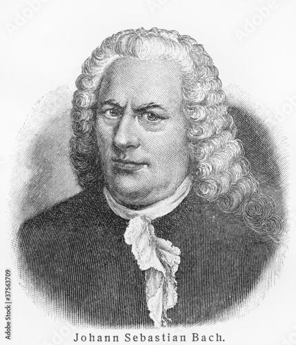Pinturas sobre lienzo  Johann Sebastian Bach