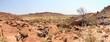 Steinwüste in Botswana