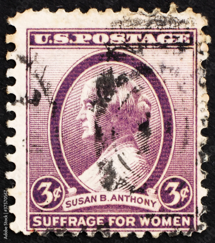 Postage Stamp USA 1936 Susan B Anthony