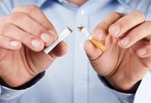 Quit Smoking, Human Hands Brea...