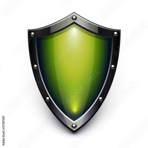 Fotografie, Obraz  Green security shield