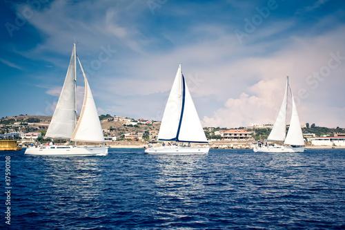 Fototapety marynistyczne   jachty-zaglowe