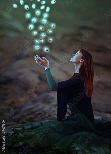 Akustikstoff - magische Momente (von TamreiArt)