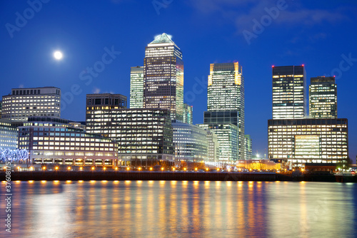 Fototapeta panorama   panorama-londynu-w-nocy