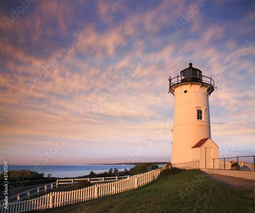 Valokuva  The Nobska Point Light, Woods Hole, Cape Cod Massachusetts