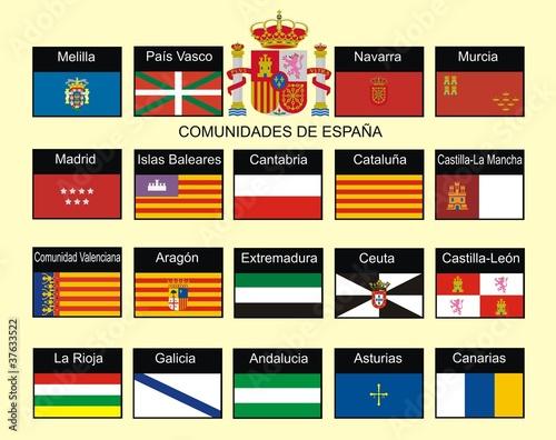 Платно Comunidades de España