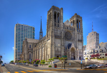 Grace Cathedral In San Francisco