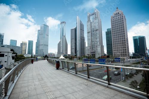 Staande foto Los Angeles shanghai financial center district