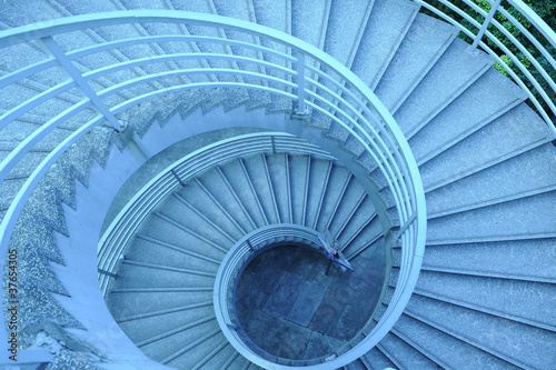 Papiers peints Escalier Circular Stairs