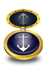 Anchor Button (vector)