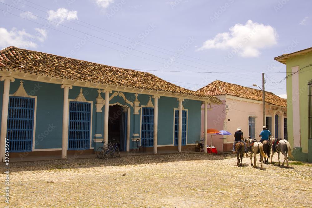 Fotografie, Tablou  Rural Scene. Trinidad