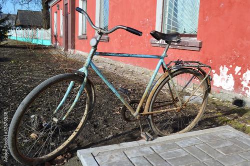 Foto auf AluDibond Fahrrad Retro bike