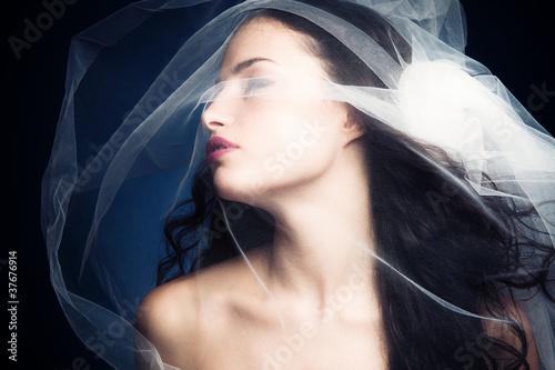 Obraz na płótnie beauty under veil