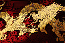 Traditional Chinese Dragon Painting
