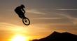 Mountainbike silhouette