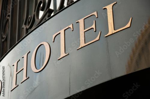 Fotografie, Obraz  Hôtel