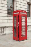 Fototapeta Londyn - budka telefoniczna