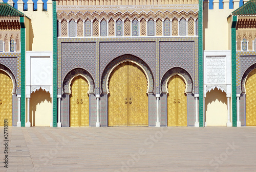 Recess Fitting Morocco Palazzo Reale - Fes - Marocco