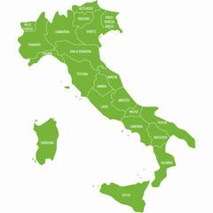 karta Italije