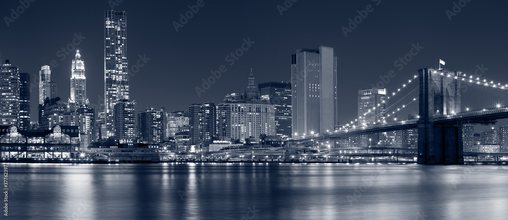 Fototapeta Manhattan, New York City.