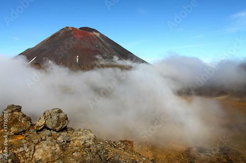 Wall Murals Volcano Tongariro National Park, New Zealand