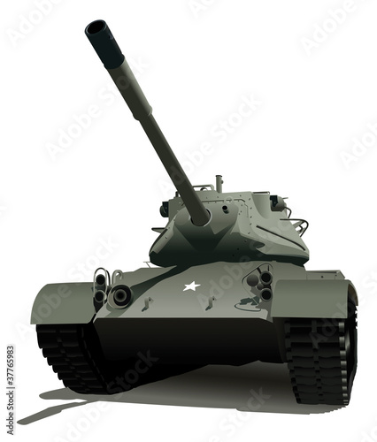 Photo sur Aluminium Militaire Military Tank