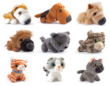 Softness Toys, Cats And Dogs