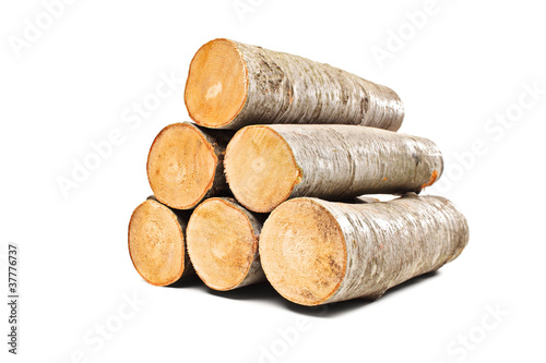 Photo Stands Firewood texture Pile of beech firewood