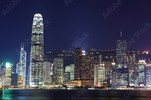 Fototapety, obrazy: Hong Kong night