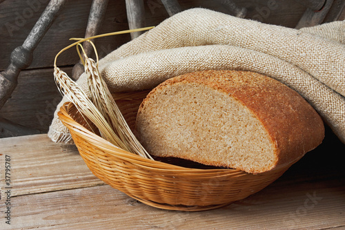 Garden Poster Spa bread and ears