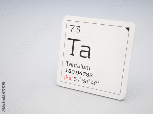 Tantalum Element Of The Periodic Table Buy This Stock