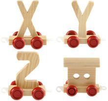 Wagons Lettres X, Y, Z Et Wagon De Queue