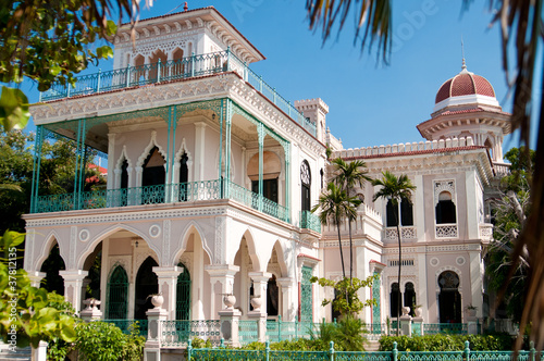 Photo  Beautiful Palace In Cienfuegos