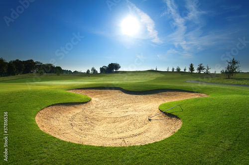 Tuinposter Golf Golf course