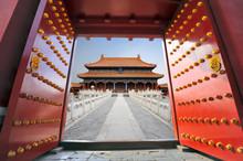 Forbidden City In Beijing , Ch...