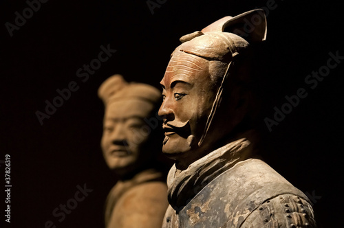 famous Chinese terracotta army