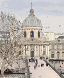 Pont des arts in Paris - 37830964