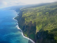 Cliffs At The Big Island Of Hawaii
