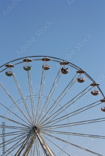 Poster Amusementspark Riesenrad