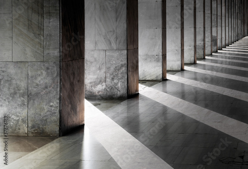 Fotografie, Obraz Columns