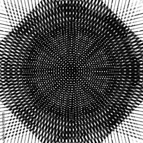 Poster Psychedelique Gray abstract background