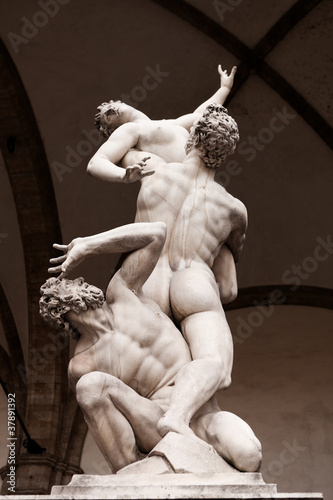 Photo  The rape of the sabine women